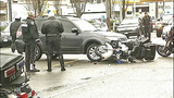 PHOTOS: Motorcycle officer goes down in crash… - (1/16)