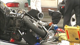 PHOTOS: Motorcycle officer goes down in crash… - (7/16)