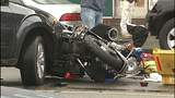 PHOTOS: Motorcycle officer goes down in crash… - (6/16)