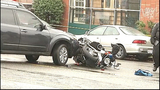PHOTOS: Motorcycle officer goes down in crash… - (4/16)