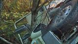 PHOTOS: Runaway dump truck hits van, overturns - (10/15)