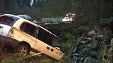 PHOTOS: Runaway dump truck hits van, overturns - (3/15)