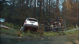 PHOTOS: Runaway dump truck hits van, overturns - (1/15)
