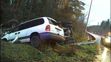 PHOTOS: Runaway dump truck hits van, overturns - (11/15)