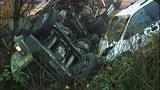 PHOTOS: Runaway dump truck hits van, overturns - (2/15)