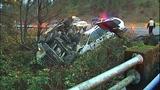 PHOTOS: Runaway dump truck hits van, overturns - (15/15)