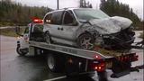PHOTOS: Runaway dump truck hits van, overturns - (7/15)