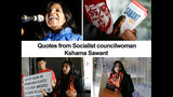 PHOTOS: Quotes from Socialist councilwoman… - (4/21)