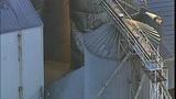PHOTOS: Grain silo crumples at Wilcox Farms - (5/15)