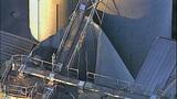 PHOTOS: Grain silo crumples at Wilcox Farms - (15/15)