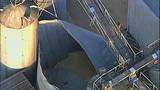 PHOTOS: Grain silo crumples at Wilcox Farms - (4/15)