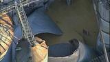 PHOTOS: Grain silo crumples at Wilcox Farms - (13/15)
