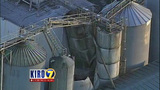 PHOTOS: Grain silo crumples at Wilcox Farms - (3/15)