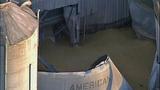 PHOTOS: Grain silo crumples at Wilcox Farms - (11/15)