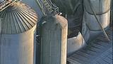 PHOTOS: Grain silo crumples at Wilcox Farms - (6/15)