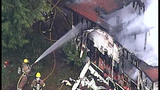 PHOTOS: Crews respond to Hansville mobile home fire - (9/10)