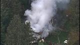 PHOTOS: Crews respond to Hansville mobile home fire - (2/10)