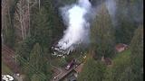 PHOTOS: Crews respond to Hansville mobile home fire - (3/10)