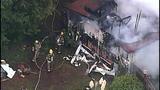 PHOTOS: Crews respond to Hansville mobile home fire - (4/10)