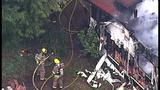 PHOTOS: Crews respond to Hansville mobile home fire - (5/10)