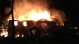 PHOTOS: Fire devours home, killing doctor, child - (10/13)
