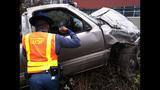 PHOTOS: I-405 crash critically injures 1 - (4/5)