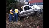 PHOTOS: I-405 crash critically injures 1 - (3/5)