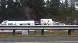 PHOTOS: 1 killed in fiery crash on southbound I-5 - (20/25)