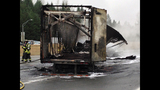PHOTOS: 1 killed in fiery crash on southbound I-5 - (16/25)