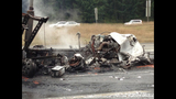 PHOTOS: 1 killed in fiery crash on southbound I-5 - (15/25)
