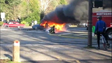 PHOTOS: Woman rescued from fiery crash - (19/20)
