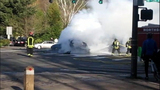 PHOTOS: Woman rescued from fiery crash - (4/20)