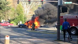 PHOTOS: Woman rescued from fiery crash - (14/20)