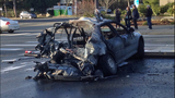 PHOTOS: Woman rescued from fiery crash - (18/20)