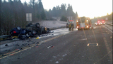 PHOTOS: Fatal collision closes SR 2 - (2/4)