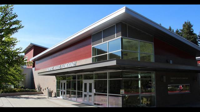 Newport Heights Elementary in Bellevue.