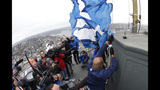 PHOTOS: 12th Man flag flies atop Space Needle - (6/9)