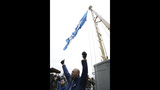 PHOTOS: 12th Man flag flies atop Space Needle - (2/9)