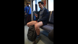 SeattleInsider: Pantless pranksters strip to… - (1/25)