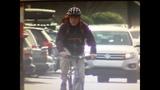 A bicyclist along Seattle's Westlake Ave_4367356