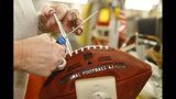 PHOTOS: How are official Super Bowl footballs made? - (5/16)