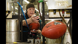 PHOTOS: How are official Super Bowl footballs made? - (15/16)
