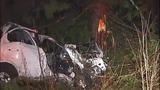 PHOTOS: Car launches 100 feet, hits tree,… - (9/11)