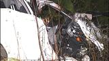 PHOTOS: Car launches 100 feet, hits tree,… - (3/11)