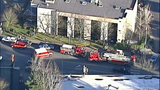 PHOTOS: Car slams into building, rolls over - (3/11)