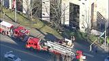 PHOTOS: Car slams into building, rolls over - (7/11)