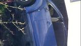 PHOTOS: Car slams into building, rolls over - (6/11)
