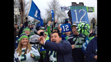 PHOTOS: Seahawks fans gather to send off team - (10/12)