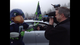 PHOTOS: Seahawks fans gather to send off team - (9/12)