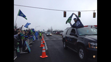 PHOTOS: Seahawks fans gather to send off team - (7/12)